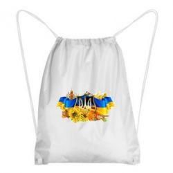 Рюкзак-мешок Сонячна Україна - FatLine