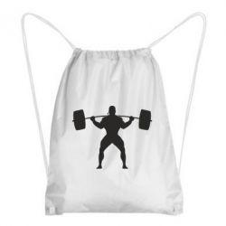 Рюкзак-мешок Спортсмен со штангой - FatLine