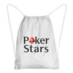 Рюкзак-мешок Stars of Poker - FatLine