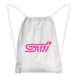 Рюкзак-мешок STI Logo - FatLine