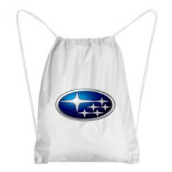 Рюкзак-мешок Subaru 3D Logo - FatLine