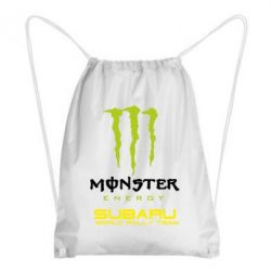Рюкзак-мешок Subaru Monster Energy - FatLine