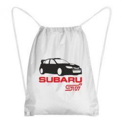 Рюкзак-мешок Subaru STI - FatLine