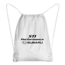 Рюкзак-мішок Subaru STI