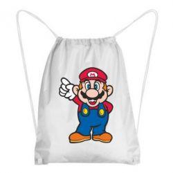 Рюкзак-мешок Супер Марио - FatLine