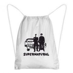 Рюкзак-мешок Supernatural Братья Винчестеры - FatLine