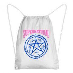 Рюкзак-мешок Supernatural круг - FatLine
