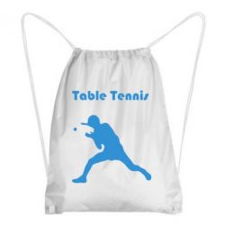 Рюкзак-мешок Table Tennis Logo - FatLine