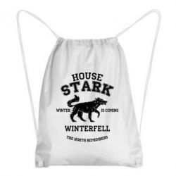Рюкзак-мешок The North Remembers - House Stark - FatLine