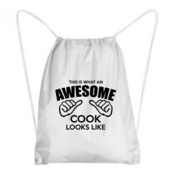 Рюкзак-мешок This is what an awesome cook looks like - FatLine