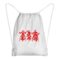 Рюкзак-мешок Три богатыря - FatLine
