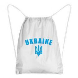 Рюкзак-мешок Ukraine + герб - FatLine