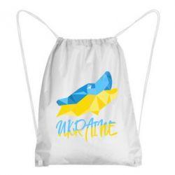 Рюкзак-мешок Ukrainian Wolf - FatLine