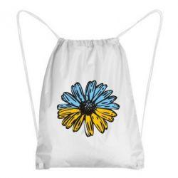 Рюкзак-мішок Українська квітка