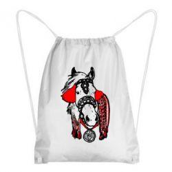 Рюкзак-мешок Українській кінь - FatLine