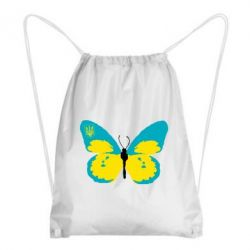 Рюкзак-мешок Український метелик - FatLine