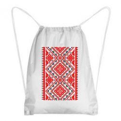 Рюкзак-мешок Вишиванка - FatLine