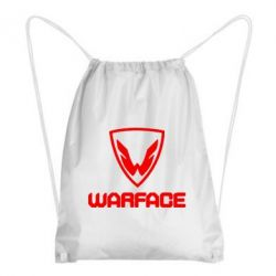 Рюкзак-мешок Warface Logo - FatLine