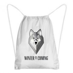 Рюкзак-мешок Winter is coming Wolf - FatLine