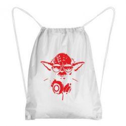 Рюкзак-мішок Yoda в навушниках