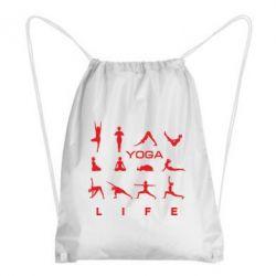 Купить Рюкзак-мешок Йога life 2, FatLine