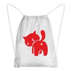 Рюкзак-мішок злий коте - FatLine