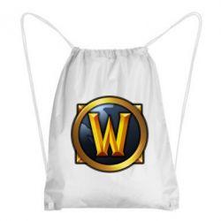 Рюкзак-мешок Значок wow - FatLine