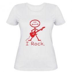 Жіноча футболка З гітарою - FatLine