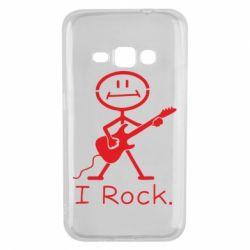 Чохол для Samsung J1 2016 З гітарою