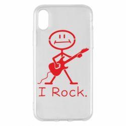 Чохол для iPhone X/Xs З гітарою