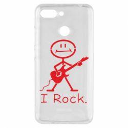 Чехол для Xiaomi Redmi 6 С гитарой - FatLine