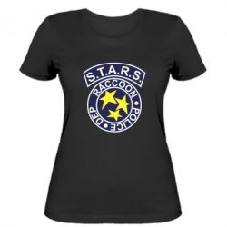 Женская футболка S.T.A.R.S. police dep