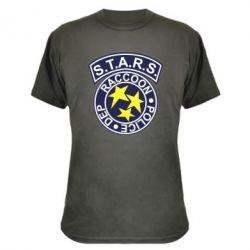 Камуфляжная футболка S.T.A.R.S. police dep
