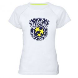 Женская спортивная футболка S.T.A.R.S. police dep