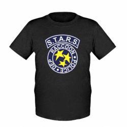 Детская футболка S.T.A.R.S. police dep