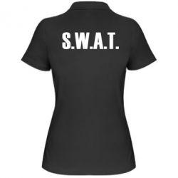 Женская футболка поло S.W.A.T. - FatLine