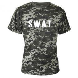 Камуфляжная футболка S.W.A.T. - FatLine