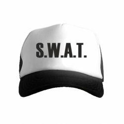 Детская кепка-тракер S.W.A.T.