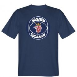 Мужская футболка SAAB Scania