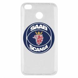 Чехол для Xiaomi Redmi 4x SAAB Scania