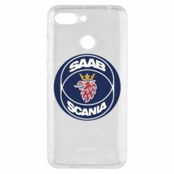 Чехол для Xiaomi Redmi 6 SAAB Scania