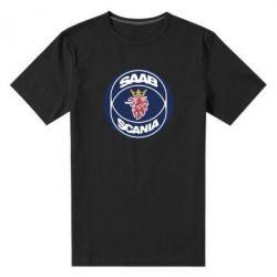 Мужская стрейчевая футболка SAAB Scania
