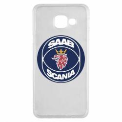 Чехол для Samsung A3 2016 SAAB Scania