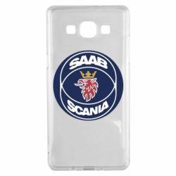Чехол для Samsung A5 2015 SAAB Scania