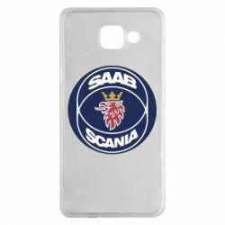 Чехол для Samsung A5 2016 SAAB Scania