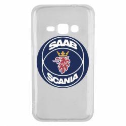 Чехол для Samsung J1 2016 SAAB Scania