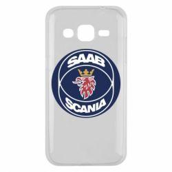 Чехол для Samsung J2 2015 SAAB Scania