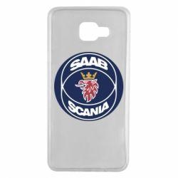 Чехол для Samsung A7 2016 SAAB Scania