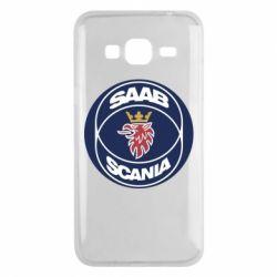 Чехол для Samsung J3 2016 SAAB Scania