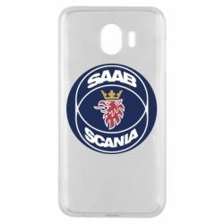 Чехол для Samsung J4 SAAB Scania